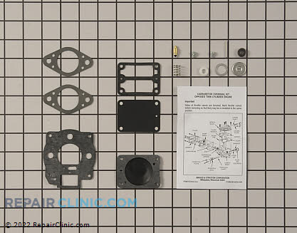 Rebuild Kit, Briggs & Stratton Genuine OEM  693503 - $36.50