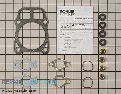 Cylinder Head Gasket Kit, Kohler Engines Genuine OEM  24 841 02-S