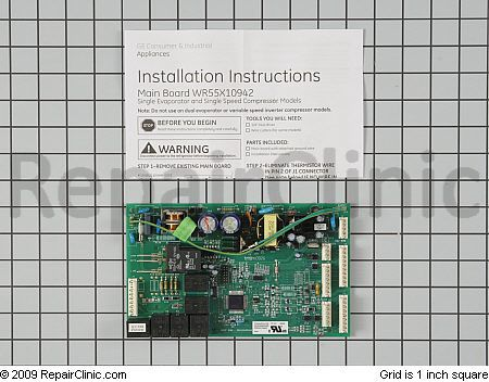 motherboard used in GE refrigerators.