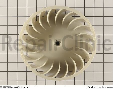 blower wheel for a whirlpool-built dryer with the lint filter in the door-- click it ot hit, Hoss
