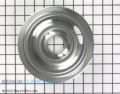 6 Inch Burner Drip Bowl WB31X5010 Main Product View