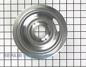 6 Inch Burner Drip Bowl - Part # 4 Mfg Part # WB31X5010