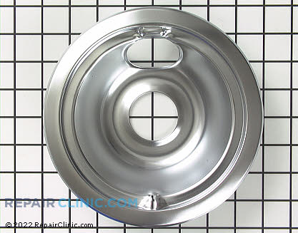 6 Inch Burner Drip Bowl WB32X5075 Main Product View