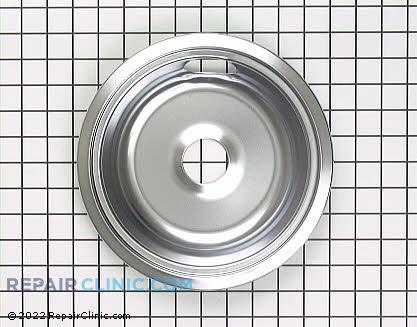 8 Inch Burner Drip Bowl WB31X5011 Main Product View