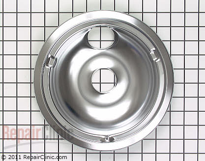 8 Inch Burner Drip Bowl WB31K5025 Main Product View