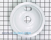 6 Inch Burner Drip Bowl - Part # 12875 Mfg Part # 5303935081