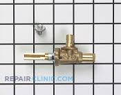 Gas Burner & Control Valve - Part # 504955 Mfg Part # 3196851