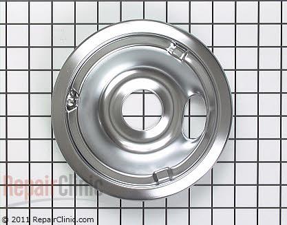 6 Inch Burner Drip Bowl WB31K5024 Main Product View