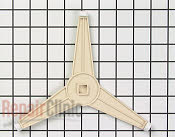 Glass Tray, Coupler & Support Roller - Part # 718938 Mfg Part # 80QBP0566