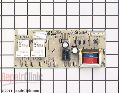 Relay Board 7428P009-60     Main Product View