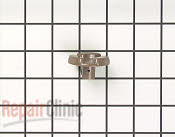 Glass Tray, Coupler & Support Roller - Part # 760737 Mfg Part # 80QBP1452