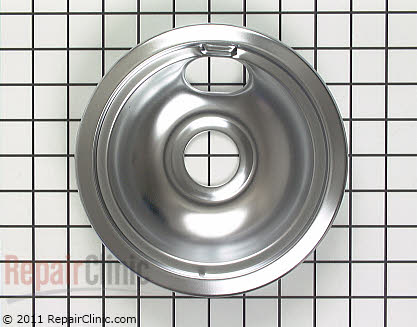 6 Inch Burner Drip Bowl 82053           Main Product View