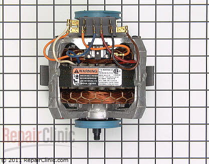 Circulation and Drain Pump Motor 901556          Main Product View