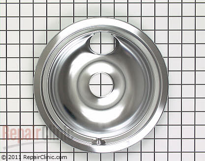 8 Inch Burner Drip Bowl WB31T10011 Main Product View