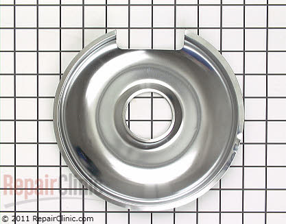 8 Inch Burner Drip Bowl 00484635 Main Product View