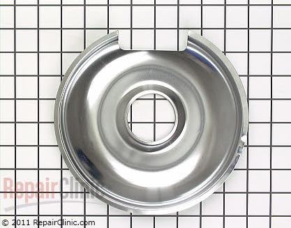 8 Inch Burner Drip Bowl 00484635 Main Product View