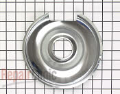 8 Inch Burner Drip Bowl - Part # 1013741 Mfg Part # 00484635