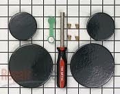 Gas Burner & Control Valve - Part # 908607 Mfg Part # 80990018