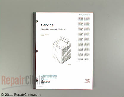 Repair Manual RS3100005 Main Product View