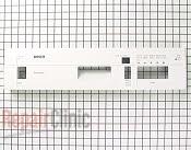 Control  Panel - Part # 536782 Mfg Part # 00351670