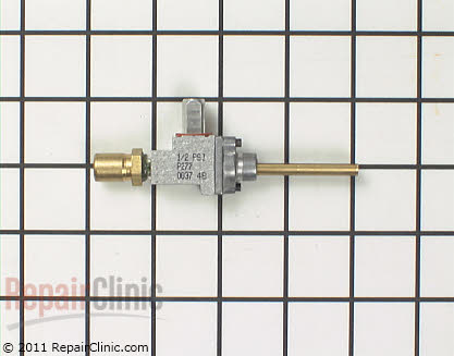 Surface Burner Valve 12002287        Main Product View