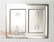 Metal Cooktop - Part # 754535 Mfg Part # 26000SG