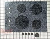 Glass Cooktop - Part # 222256 Mfg Part # R0156836