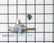 Gas Burner & Control Valve - Part # 252026 Mfg Part # WB21K13