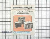 Manuals, Care Guides & Literature - Part # 624197 Mfg Part # 5303272077
