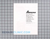 Manuals, Care Guides & Literature - Part # 916312 Mfg Part # 10527045