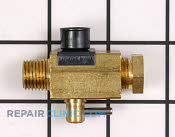 Gas Burner & Control Valve - Part # 1939459 Mfg Part # 7502P383-60