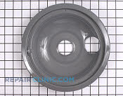8 Inch Burner Drip Bowl - Part # 770172 Mfg Part # WB31T10013