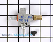 Gas Valve Assembly - Part # 252387 Mfg Part # WB21X501