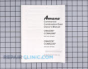 Manuals, Care Guides & Literature - Part # 402169 Mfg Part # 12092203