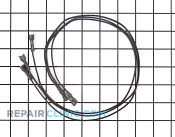 Wire Jumper - Part # 1240137 Mfg Part # Y0304358