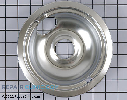 6 Inch Burner Drip Bowl W10196406 Main Product View