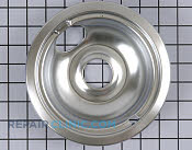 6 Inch Burner Drip Bowl - Part # 1471887 Mfg Part # W10196406