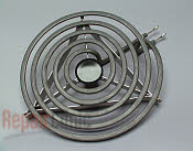 Special 8 inch diameter heating element for canning and large pots, taller, stronger and safer