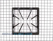 Burner Grate - Part # 495867 Mfg Part # 316084503