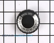 Knob, Dial & Button - Part # 257490 Mfg Part # WB3X807