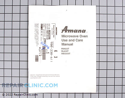 Rw635t use & care manual B8383296        Main Product View