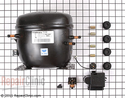 Compressor W10309988 Main Product View