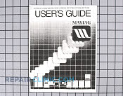 Manuals, Care Guides & Literature - Part # 663207 Mfg Part # 61001182