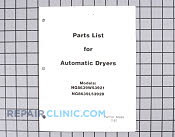 Manuals, Care Guides & Literature - Part # 1246538 Mfg Part # Y60688