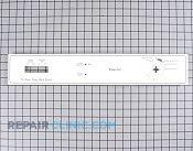 Control  Panel - Part # 752029 Mfg Part # 99001723