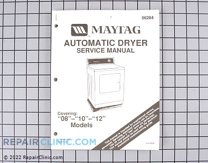 Repair Manual Y056284 Main Product View