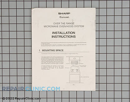 Installation Instructions TINSEB141MRR0 Main Product View