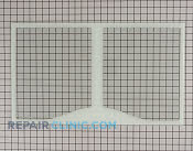 Glass Crisper Cover - Part # 1195948 Mfg Part # WR32X10589