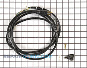 Power Cord - Part # 542488 Mfg Part # 371135