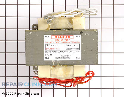 High Voltage Transformer 59004031 Main Product View